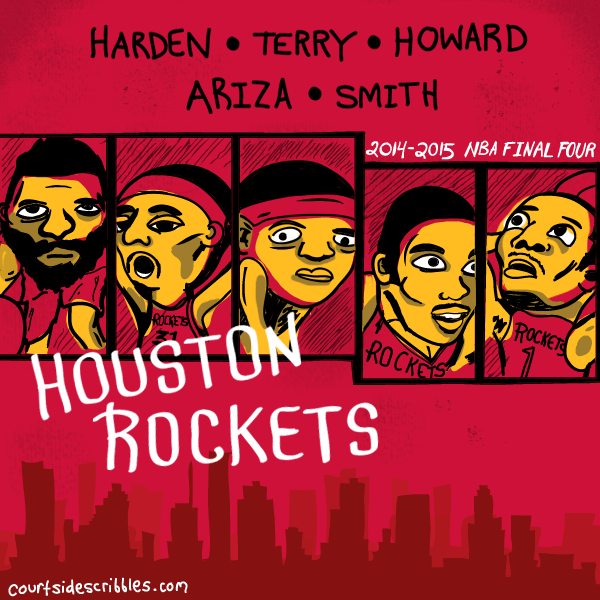 james harden cartoons dwight howard houston rockets comic nba