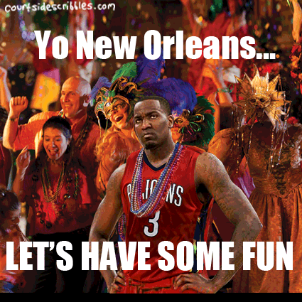 nba memes grouchy kendrick perkins signs with new orleans
